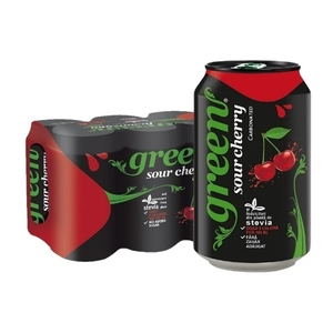 Green Cola Cherry 6cans