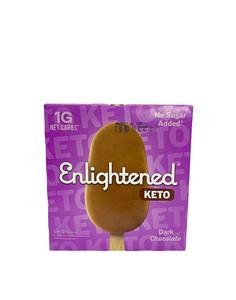 Enlightened Keto Gluten Free Dark Chocolate Ice Cream Bar 15oz