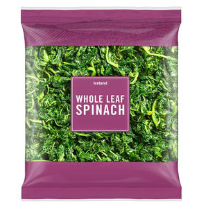 Iceland Fresh Spinach 900g
