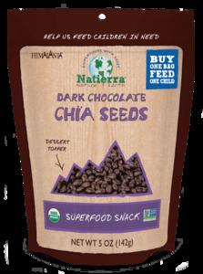 Himalania Organic Dark Chocolate Chia Seeds 5oz