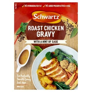 Schwartz Classic Roasted Chicken Gravy Mix 26g