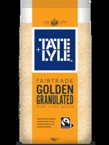 Tate & Lyle Golden Granulated Sugar 1kg
