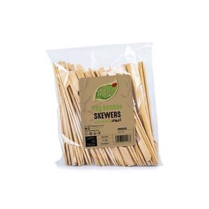 Fun Green Track Bamboo Skewers 11cm 100packs