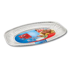 Fun Indispensable Oval Aluminium Platter Large 1pack
