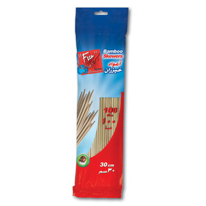 Fun Indispensable Bamboo Skewers 30cm 100packs