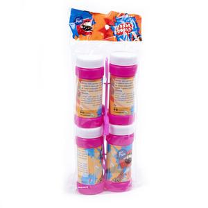 Fun Its Cool Party Bubbles Liquid Assorted Color 60ml 4packs