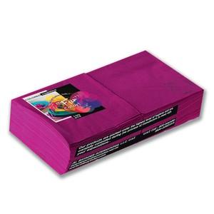 Fun Color Paper Napkins Plum 25cm 2 Ply 100packs