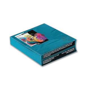 Fun Color Turquoise Paper Napkins 33cm 2 Ply 50packs