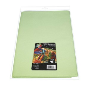 Fun Color Non Woven Table Cover Sheet Mat Green For Dining Table 1pc