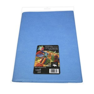 Fun Color Non Woven Table Cover Sheet Mat Blue For Dining Table 1pc