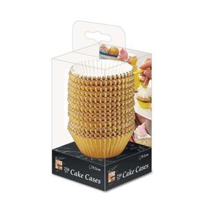 Fun Festive Gold Paper Cake Case 9.5cm 250packs