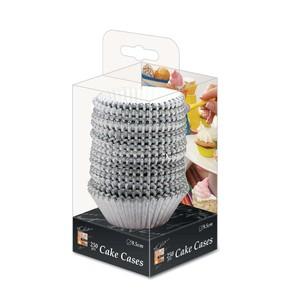 Fun Festive Silver Paper Cake Case 9.5cm 250packs