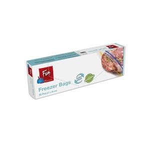 Fun Indispensable Biodegradable Freezer Bags With Ziplock Medium 20packs