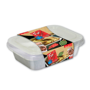 Fun Indispensable Paper Food Container Set With Lid 16oz 16oz