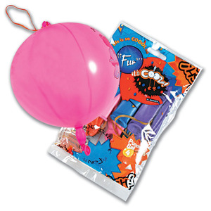 Fun Its Cool Punch-Ball Balloons 4 Inch 4packs