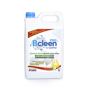 Bcleen Antibacterial Lemon Dishwashing Liquid 5l