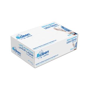 Bcleen Powder Free Latex Gloves Large 100pcs