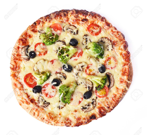 Vegetable Pizza 1pc