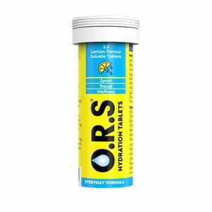 Clinova ORS Hydration Tablets Lemon 24pcs