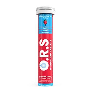 Clinova ORS Hydration Tablets Strawberry 24pcs