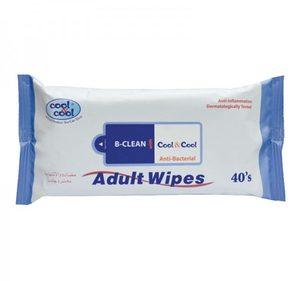 Cool & Cool Adult Wipes 40pcs