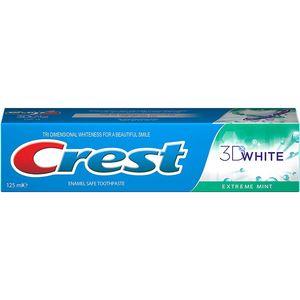 Crest 3D White Fresh Toothpaste Extreme Mint 125ml