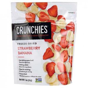 Crunchies Apples Blueberries Strawberries & Bananas 28g