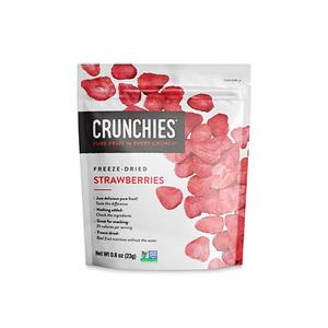 Crunchies Strawberries 23g