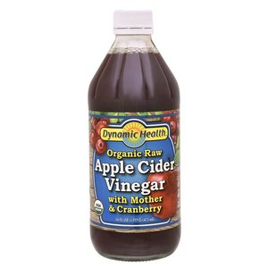 D.H Organic Apple Cider Vinegar With Mother & Cranberry 473ml