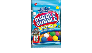 Dubble Bubble Assorted Gum Balls Gluten Free 90g