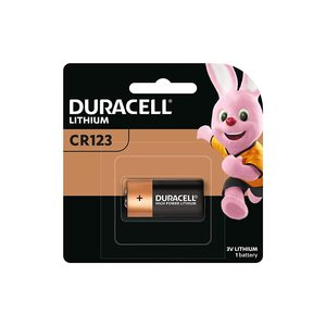 Duracell Specialty Type 123 Ultra Lithium Photo Battery 051ANZ1 1pc