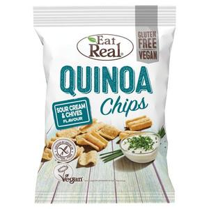 Eat Real Quinoa Sour Cream & Chive Chips 30g