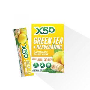 Green Teax50 Lemon And Ginger 30pcs