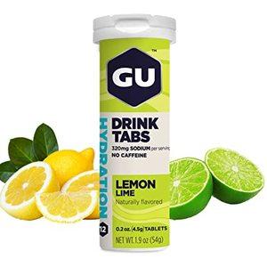Gu Hydration Drink Tabs Lemon Lime 54g
