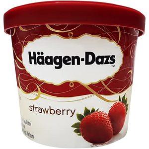 Haagen-Dazs Mini Cup Strawberry Cheesecake 100ml