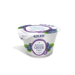 Kolios Greek Strained Yoghurt 0% Blueberry 150g