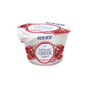 Kolios Greek Yogurt Pomegranate & Raspberry 150g