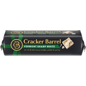 Kraft Block Cracker Barrel Vermont Sharp White Cheddar Cheese 227g