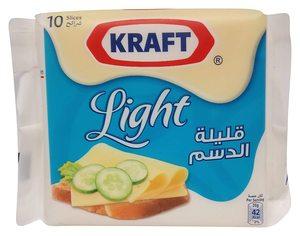 Kraft Single Slice Light 180g/200g