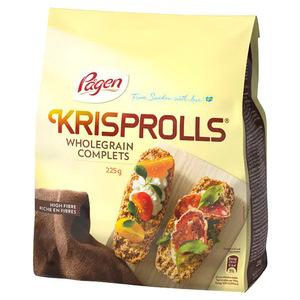 Krisproll Wholegrain Complets 225g