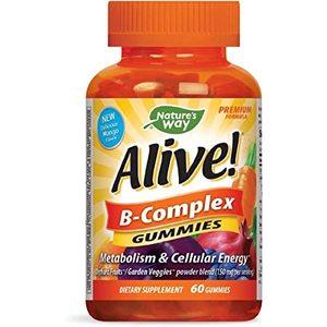 Natural Way Alive B-Complex Gummy 60pcs