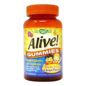 Natural Way Alive Gummies Multi-Vitamin For Children 60pcs