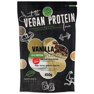 Natures Finest Vanilla 55% Protein Pudding Powder 450g