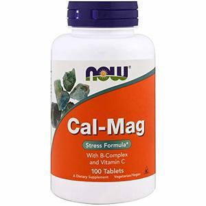 Now Vitamin CA-Mag Stress Form Tabs 100pcs