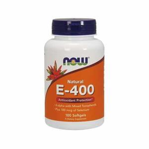 Now Vitamin E-400 Iu Soft Gels 50pcs