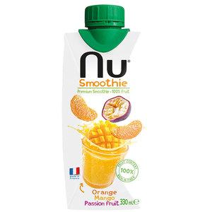 Nu Smoothie Orange Mango Passion Fruit 330ml