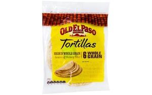 Old El Paso Tortillas 6 Whole Grain 240g