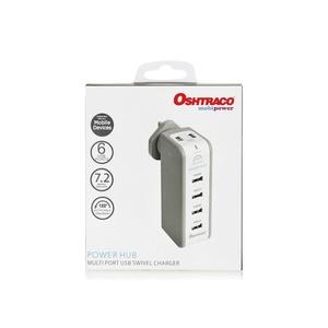 Oshtraco USB Power Hub OTC-UH1X6 1pc