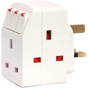 Oshtraco Industrial Travel Adaptor With USB Port 1.05amp