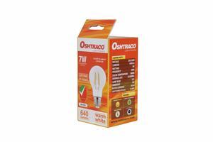 Oshtraco Warm White E27 LED Bulb Clear Filament 7W